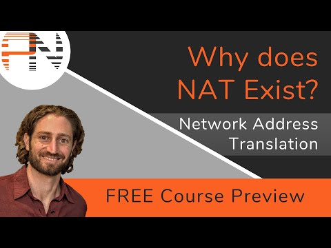 Why does NAT Exist? -- NAT Operation and Concepts (FREE Course Preview)