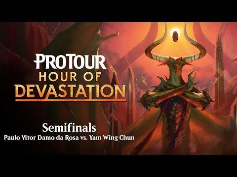 Pro Tour Hour of Devastation: Paulo Vitor Damo da Rosa vs. Yam Wing Chun