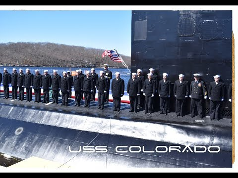 USS Colorado (SSN 788) Commissioning