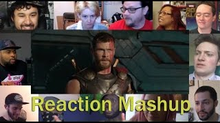 Thor  Ragnarok Teaser Trailer  REACTION MASHUP