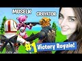 Fortnite with Muselk and Crayator a.k.a Youtubers Who Swore!