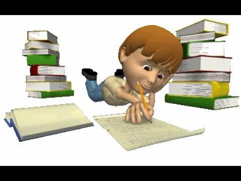Картинки учебы анимации
