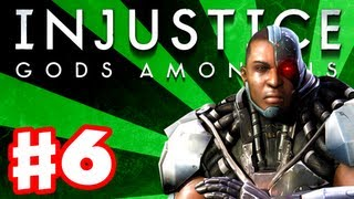 Injustice: Gods Among Us - Gameplay Walkthrough Part 6 - Cyborg (PS3, XBox 360, Wii U)