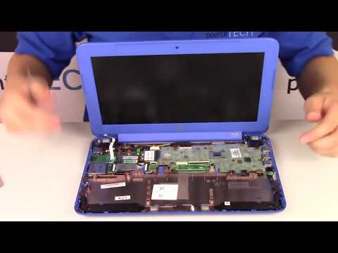How To Fix - HP Stream 11 d001dx Disassembly / Teardown