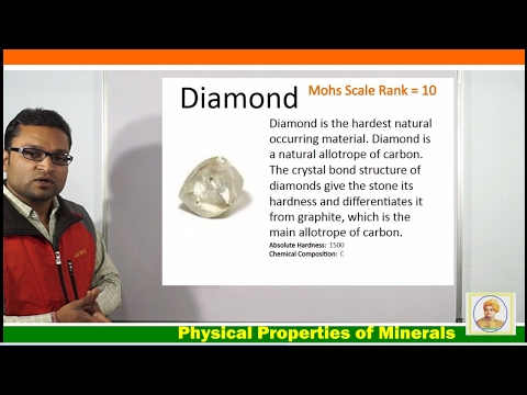 Mineralogy (मिनरोलॉजि ) An Introduction In Hindi