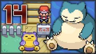 Guía Pokémon Rojo Fuego & Verde Hoja - Parte 14 | Snorlax el Dormilón - Ruta 12 & 13