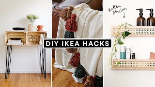 DIY IKEA HACKS - Affordable DIY Furniture + Home Decor Hacks!
