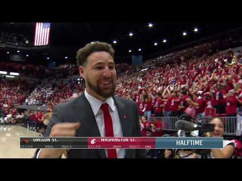 WSU MBB: Highlights vs. Oregon St. 1/18/20