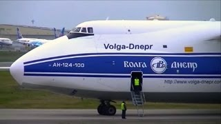 ANTONOV AN-124 Cold start and Take off