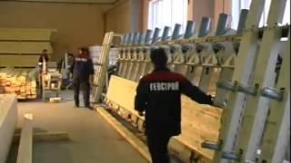 Производство клееного профилированного бруса(, 2014-02-17T11:34:51.000Z)