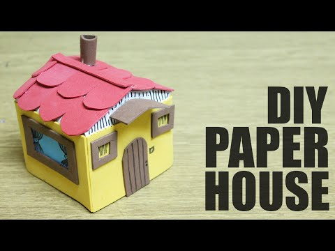 How to make a toy house - Crafts for kids