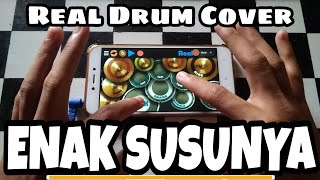 Real Drum Enak Susunya Faiha Real Drum Cover