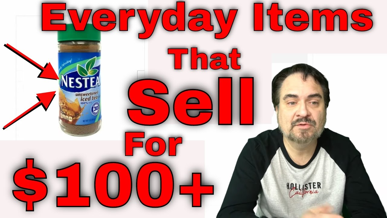 Everyday Items That Sell Fast on eBay For $100 Or More