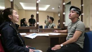Video Ayu Ting Ting - Rizky Febian Rehearsal Like I'm Gonna Lose you download MP3, 3GP, MP4, WEBM, AVI, FLV Oktober 2017