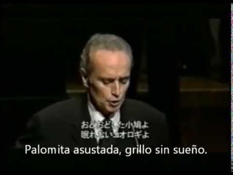 La Peregrinación, Navidad Nuestra, interpretada por José Carreras