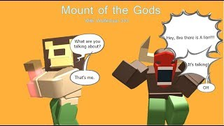 Mount of the Gods | Roblox | Ft: Wolfxroyal 333- | GBO