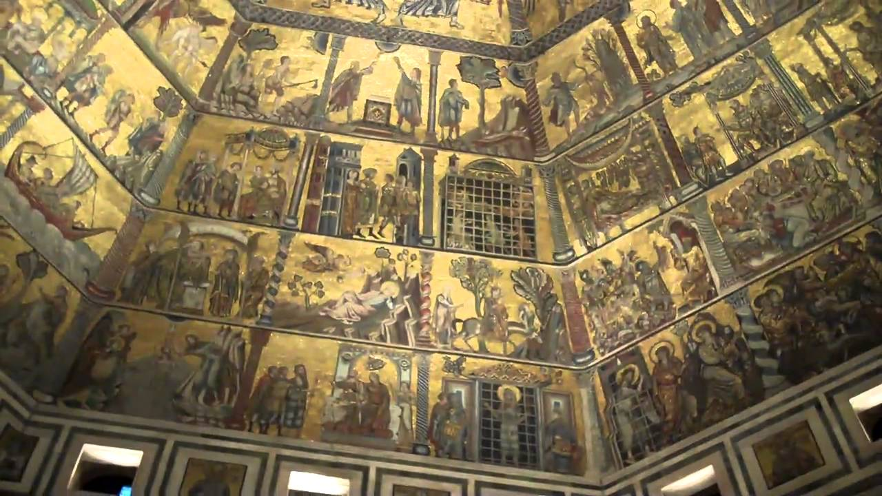 Florence Baptistry Ceiling