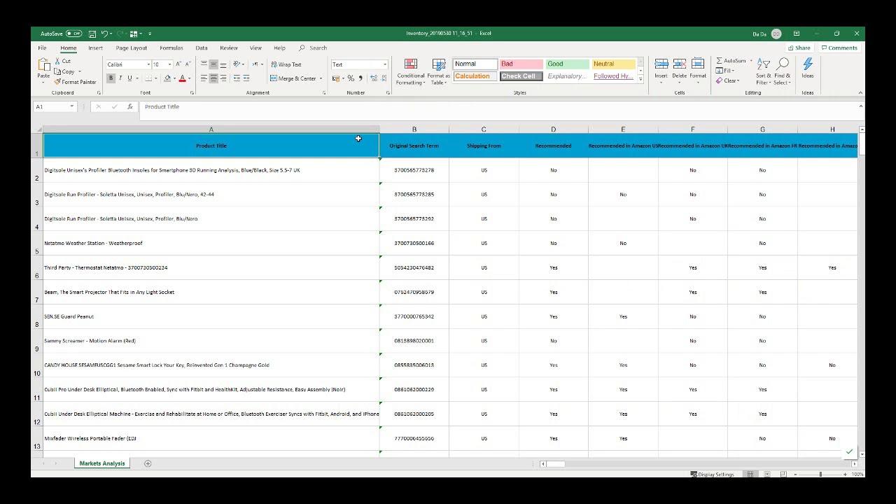 Algopix Ebay Amazon Bulk Products Analysis Research Use Case 3 Database Enrichment Youtube