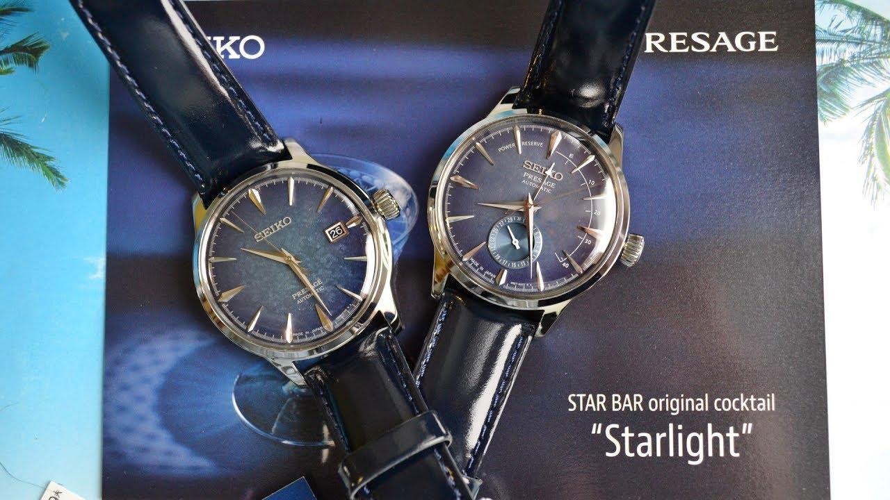 39c2b32cf2b Seiko Presage Sary085 Sary087 Limited Edition Starlight StarBar Cocktail  Time 2017 года