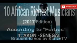 Ten(10) Richest African Musicians(2017 Forbes list)