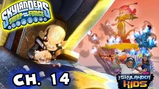 Let's Play Skylanders Swap Force: Fantasm Forest (Chapter 14) Kaos Mini Battle - Dad Son Co-Op