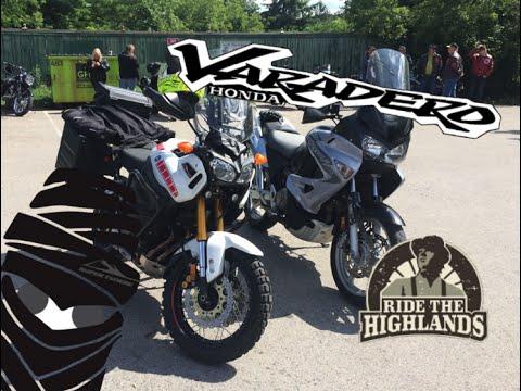 Riding the Highlands - Yamaha Super Tenere XT1200Z & Honda Varadero XL1000V