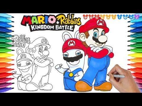 Alisya - Coloring Pages: Mario Rabbids Coloring Pages