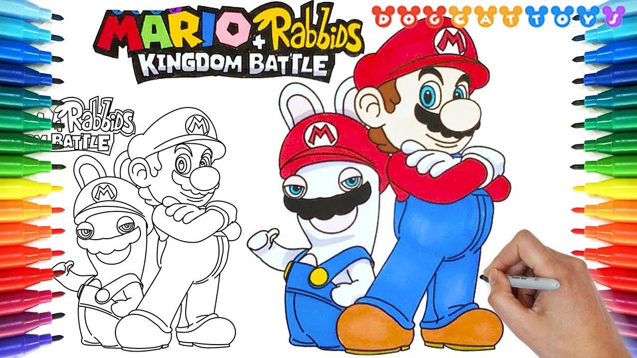 How to Draw Mario + Rabbids Kingdom Battle #157 | Drawing ...