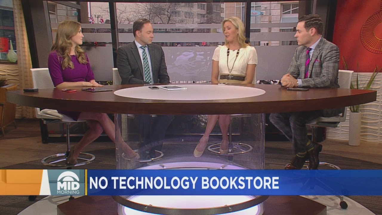 Panel Discussion: Wyoming Bookstore Bans Wi-Fi