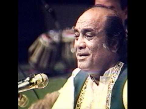 Mehdi Hassan Live in India.. Tha Jal Bujha Hon