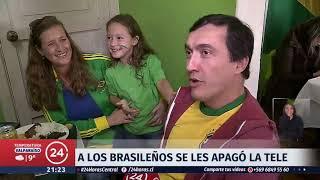 A los brasileños se les apagó la tele