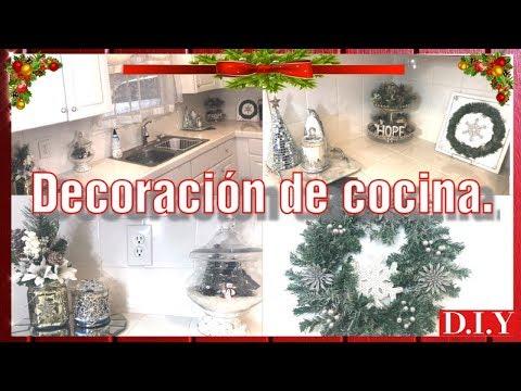 Ideas para decorar tu cocina+DIY Corona navideña.
