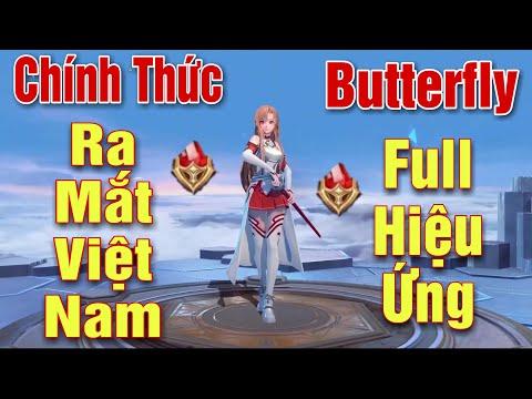 [Gcaothu] Trang phục mới Butterfly Asuna Tia Chớp ra mắt VN - Con cưng có skin thứ 10