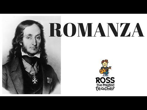 Romanza - Ross the Music Teacher Plays Paginini for the Guitar