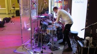 Drum show - Daniel  Varfolomeyev 15 years and Ilya Varfolomeyev  9 years  - Drum Solo