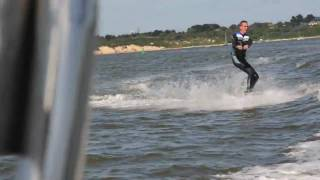 Learning To Wakeboard Avon Adventure 580 Rib Hd