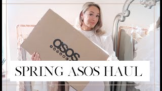 SPRING ASOS HAUL // 💐 Spring Outfit Try On // Fashion Mumblr