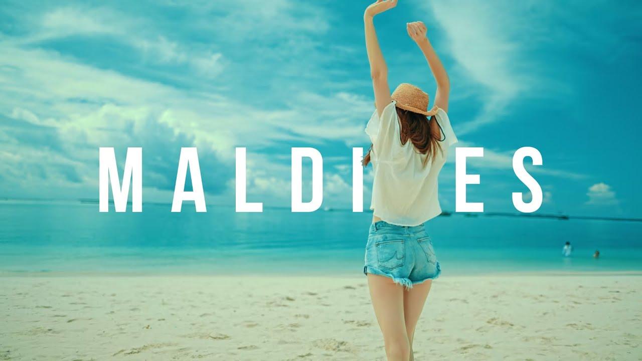 Paradise tropical wedding on Maldives honeymoon travel resort - A Walk Through Maldives