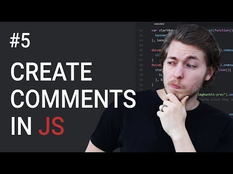5: Create comments in JavaScript - Learn JavaScript front-end programming
