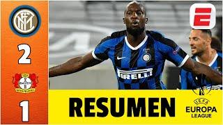 Inter Milan 2-1 Bayer Leverkusen | RESUMEN UEL | Inter, el primer semifinalista de la Europa League