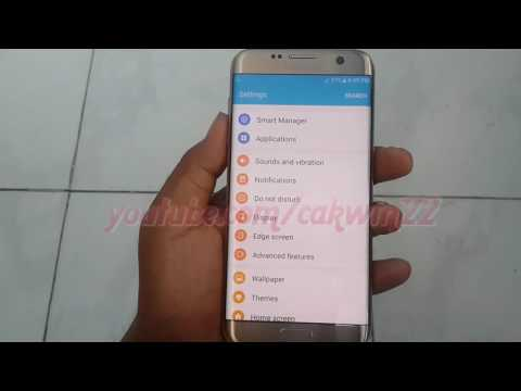 Samsung Galaxy S7 Edge : How To Enable Or Disable Quick Reply Message (Android Marshmallow)