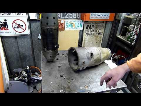 Rolls Royce Viper Jet Turbine Engine Combustor Autopsy