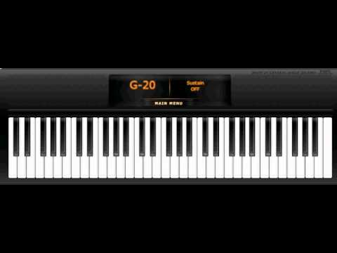 Virtual Piano - Titanic - My heart will go on