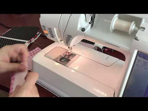 How to Chain Stitch 4 Square Quilt Blocks