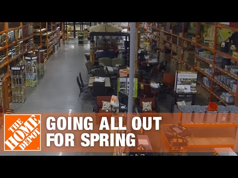 How The Home Depot Goes All Out For Spring