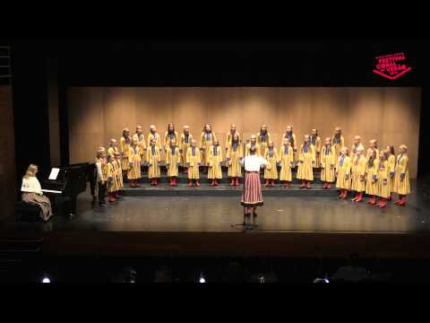 Estonian TV Children's Choir - FCV2015 Category E Folklore Open