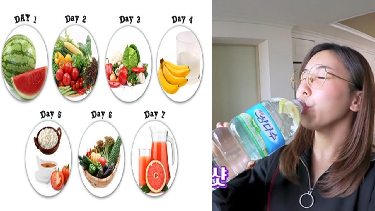 Chế độ ăn kiêng mới giúp giảm 8kg chỉ trong 1 tuần được các sao Hàn áp dụng thành công