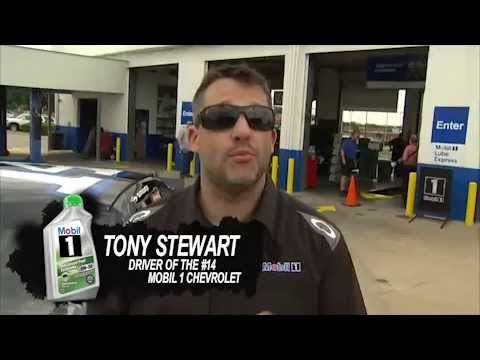 Mobil1 Advanced Fuel Economy with Tony Stewart