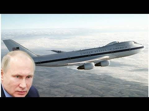 US nuclear 'Doomsday Plane' goes AIRBORNE amid fears of WAR with Russia