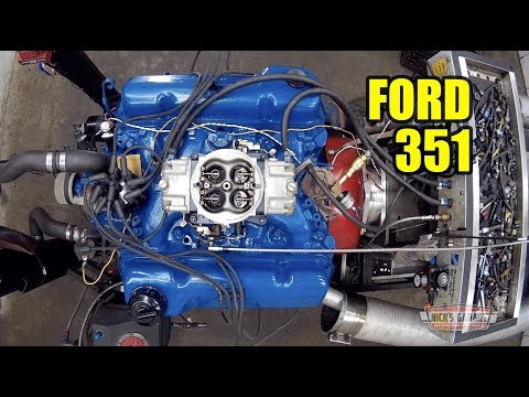 Mad Max Interceptor Pull - 351 Cleveland on the Dyno! - YouTube